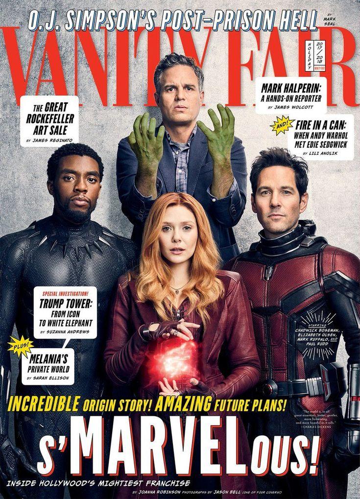 MARVEL FEED — NEW VANITY FAIR COVERS FOR 'AVENGERS: INFINITY...