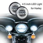 """◕❦ 4.5"""" Auxiliary LED Halo #Fog Light Driving For #Harley Davidson Touring Motorcycle http://ebay.to/2g38SmB"""