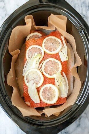 Poached Salmon | 27 Slow Cooker Recipes You Should Totally Bookmark
