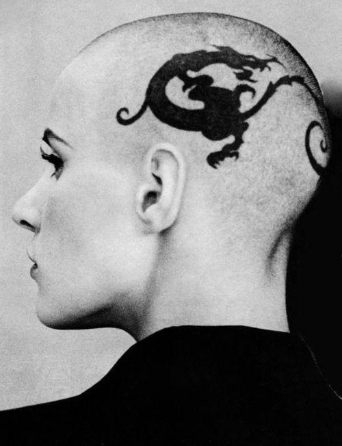 Head tattoos are beautiful