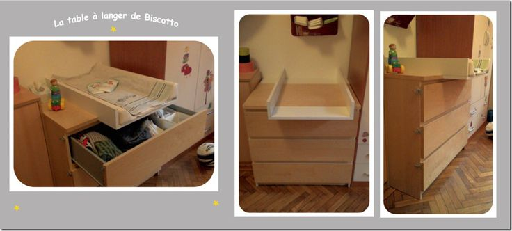transformer une commode malm en table langer bebe pinterest babies room and nursery