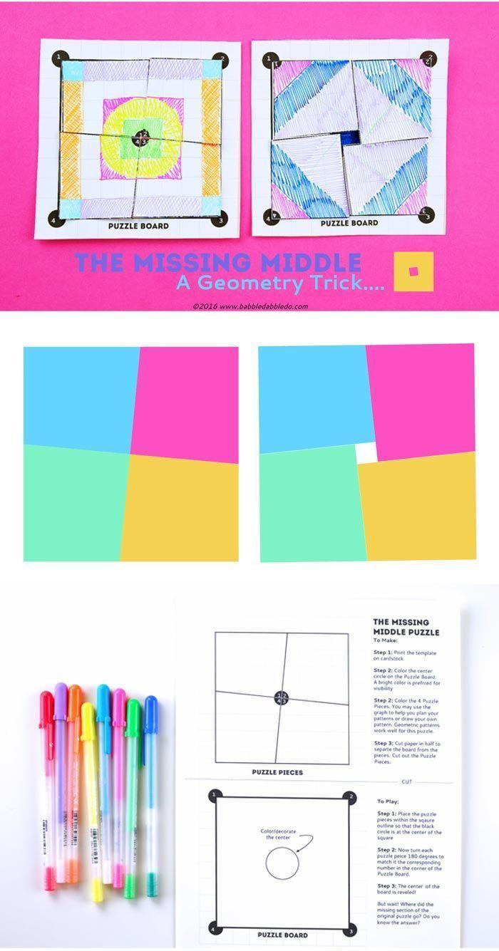 74 best Fun Geometry Ideas images on Pinterest   Teaching math ...