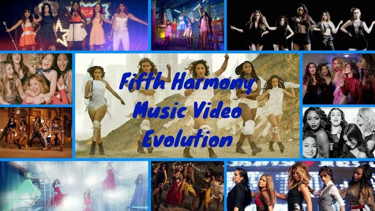 Fifth Harmony Music Video Evolution