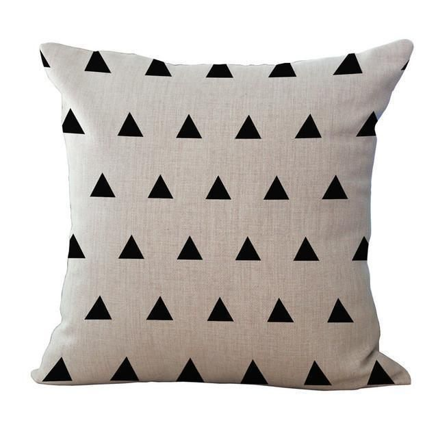 Cushion Covers Abstract B W Pillow Cases Pillow Covers Pillows