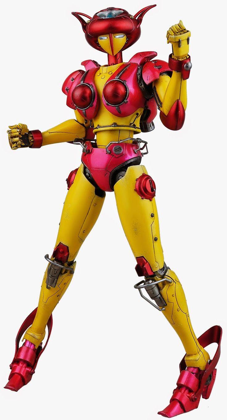 Mazinger z coloring pages - Mazinger Z Aphrodite A Action Figure By Threezero