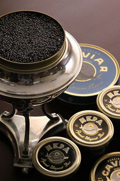 The Caviar is made from salt-cured fish-eggs. Traditionally the term caviar refers only to roe from wild sturgeon in the Caspian and Black Seas (Beluga, Ossetra and Sevruga caviars). Before, it was...
