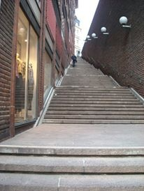 "Swedish steps, you may recognise this scene from ""The Girl With The Dragon Tattoo"""