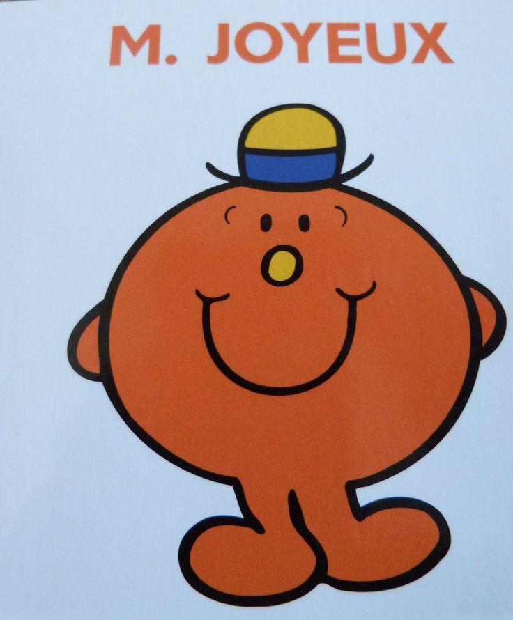 Jour 20 : Sourire ... rien de mieux que Monsieur Joyeux! #Flow29jours
