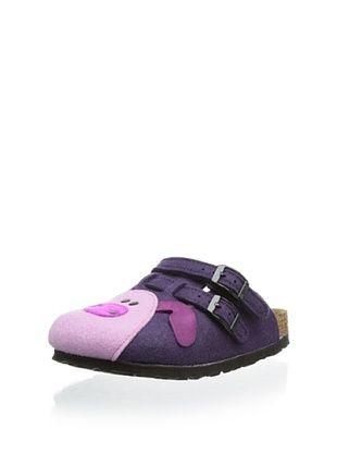 68% OFF Birki's Kid's Felt Pig Clog (Purple)