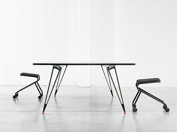For Stockholm Furniture Fair 2016 Lammhults Introduces Attach - table system in collaboration with Troels Grum-Schwensen