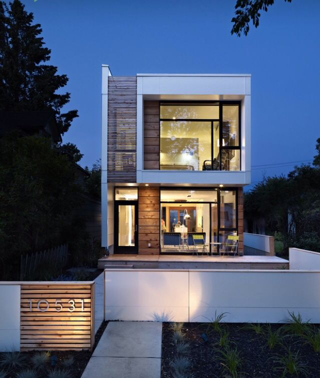 23 best Modern homes images on Pinterest Modern homes - moderne huser 2015