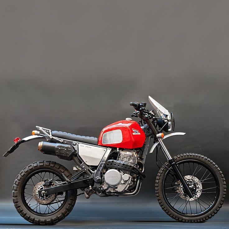 Desert Dominator: Honda NX650 Sled - BikeBound