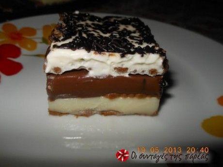 Ένα εύκολο και νόστιμο γλυκάκι το όποιο εμπνεύστηκα σε μια στιγμη υπογλυκαιμίας!!!