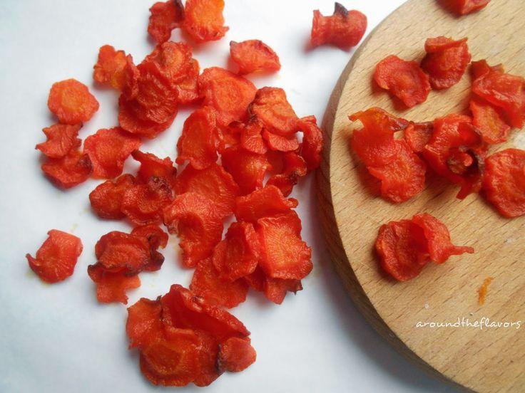 Around the flavors: Chipsy z marchewki