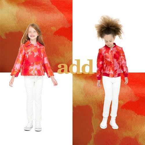 Now you kids can wear the same style as you! #addkids #fashion