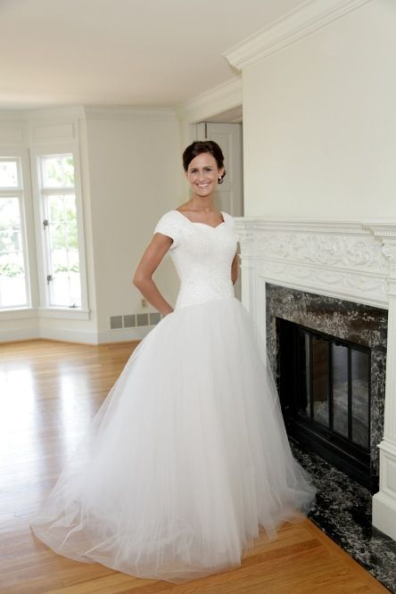 70 best Modest Wedding Dresses images on Pinterest | Wedding ...