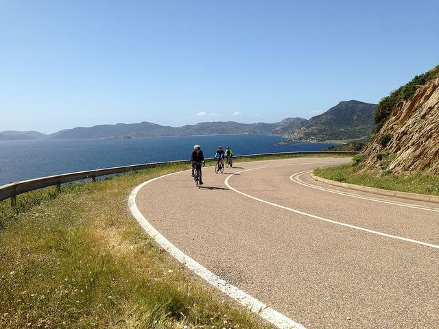 A photo from Saddle Skedaddle's Sardinia Coastal Explorer road cycling holiday in Italy
