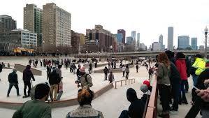 Image result for skateparks in downtown chicago