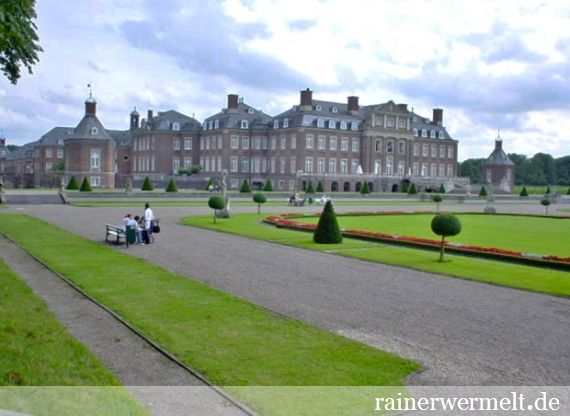 Schloss Nordkirchen | Nordkirchen | Kreis Coesfeld | NRW | 2004  | (c) Rainer Wermelt | rainerwermelt.de