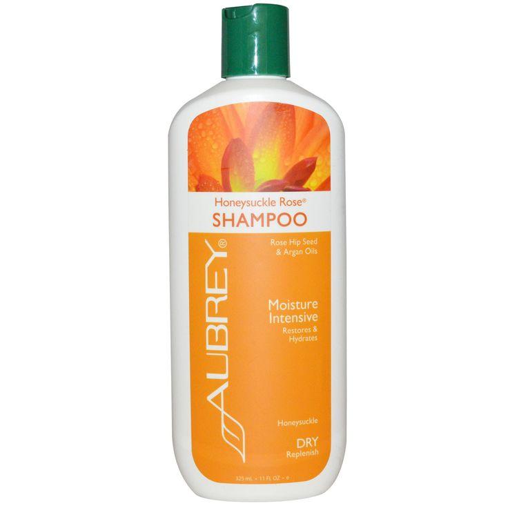 Aubrey Organics, Honeysuckle Rose Shampoo, Moisture Intensive
