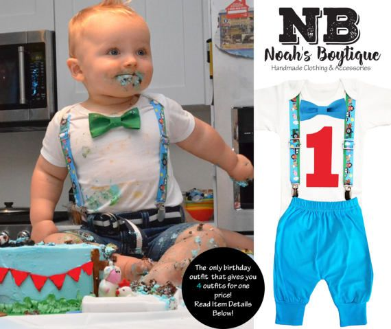 Farm Birthday Party Outfit- Barn Animal Outfit - Barn Party - Farm Party - Number One Shirt - 1st Birthday - Clothing - Birthday Shirt Pants