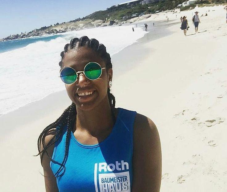 #Summer in #CapeTown! So much to do, glad @viktoria_swski got to experience it. #CapeStudies @Regrann from @viktoria_swski - Just relaxing at the beach and enjoying the summer #summer #capetown #smil #campsbay #beach #ocean #goals