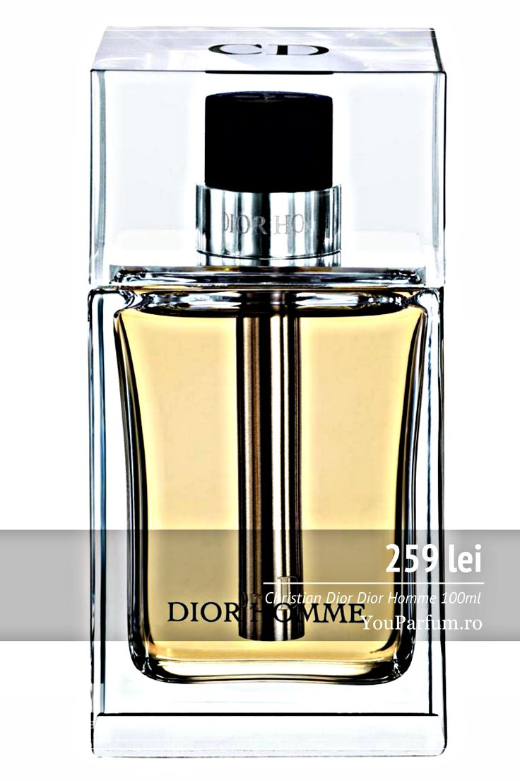 Christian Dior Dior Homme este un parfum pentru barbați cu note florale ce combină perfect elemente clasice cu elemente moderne. Dior Homme este un parfum conceput pentru un bărbat elegant ce are incredere în forțele proprii. Christian Dior Dior Homme este întruchiparea perfectă a masculinității, dar și a sensibilității.