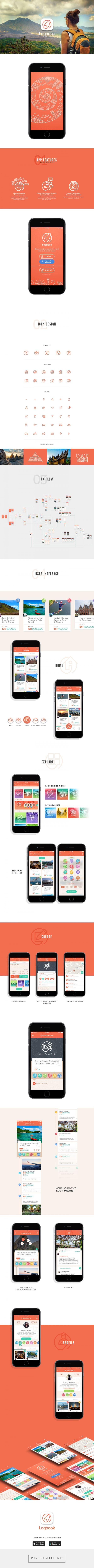 Devi Soewono | Logbook - App Design. http://www.devisoewono.com/design/logbook-app-design/