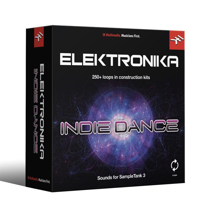IK Multimedia LP-ELIND-DID-IN ST3 - Indie Dance Library Neon loops, disco-infused synthsi [Download]