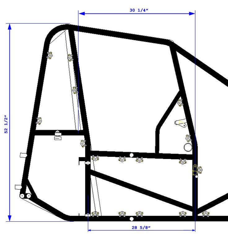 Big boy midget chassis — 13