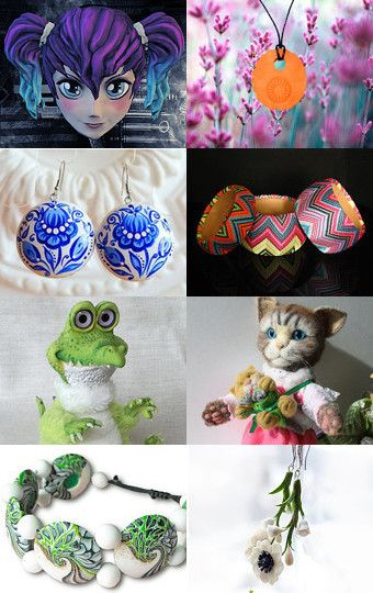 My croco was added to ♥Lovely trends♥ 200838 by Nataliya Lunkova on Etsy