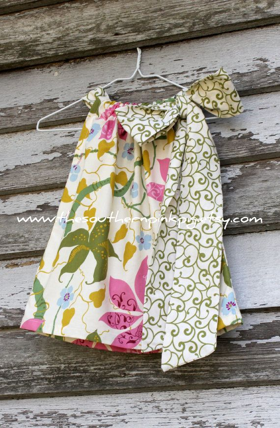 pillowcase dresses!!  I want to learn how to make these they are so cute!