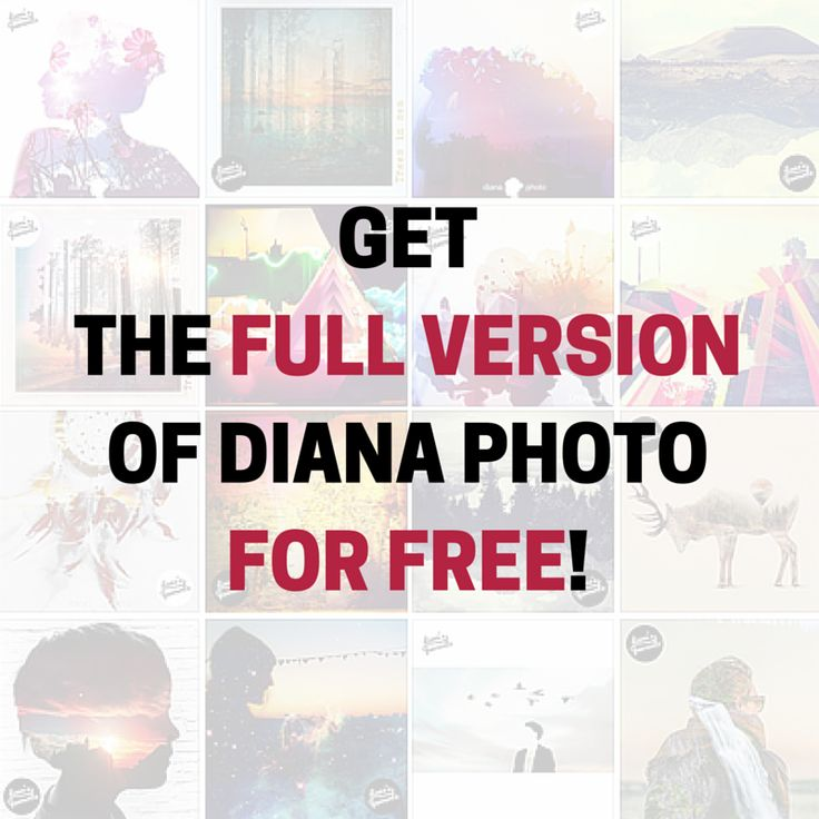 Surprise, surprise  Would you like to try all the features from #DianaPhoto totally for free? Write us a private message at our Facebook profile (@dianablog) and we'll give you the access to the full version!  It's for #Android and #iOS versions of the app!