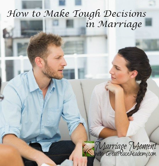 how to make a tough decision relationships
