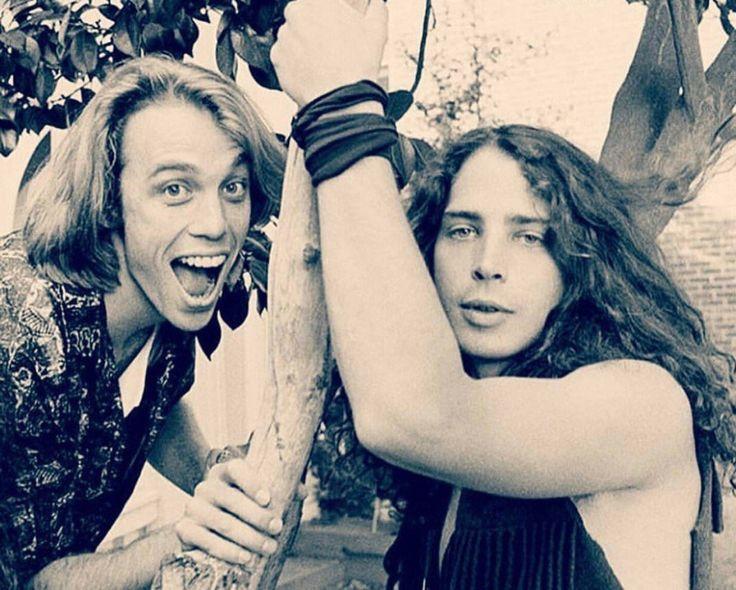Matt Cameron and Chris Cornell