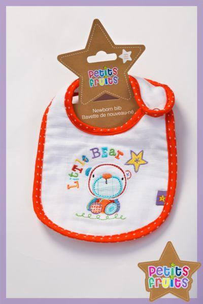 Newborn Bib - Petits Fruits - Little Star!