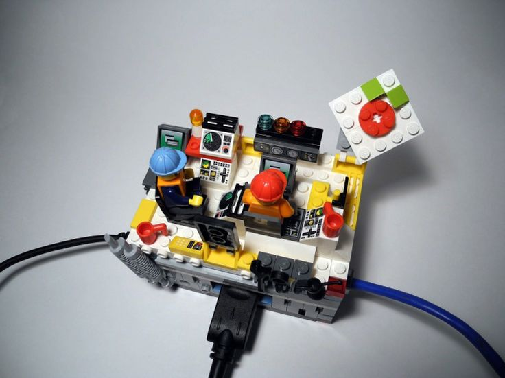 I think I'll start with a Lego case for the Raspberry Pi.