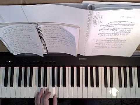 Klavír - klávesy - on line škola