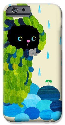 Private Green iPhone 6 Case by Anne Vasko