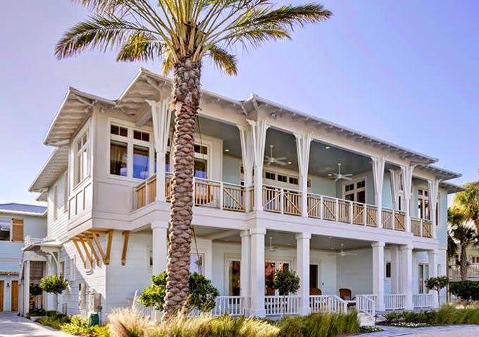 Coastal Living Beach House Homes Pinterest