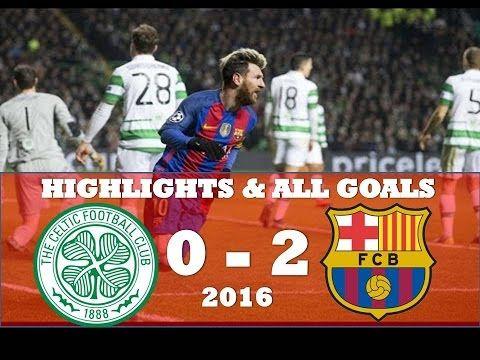 Celtic vs Barcelona 0 2 ● Highlights & All Goals ● Champions league Nove...