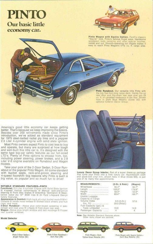 1975 Ford Pintos https://plus.google.com/+JohnPruittMotorCompanyMurrayville/posts