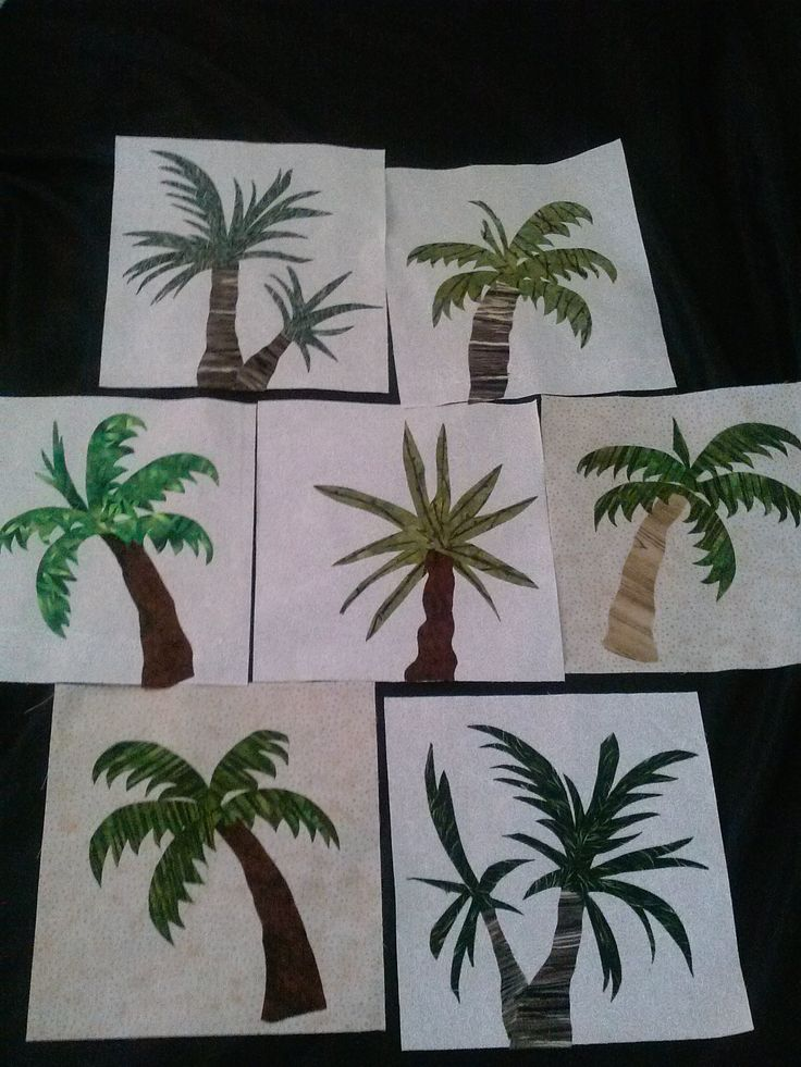 Palm Trees For My New Quilt Palm Tree Quilt