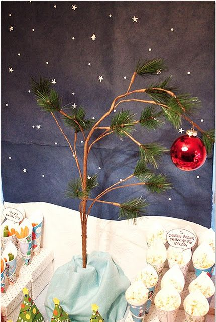 29 Best Charlie Brown Christmas Party Images On Pinterest