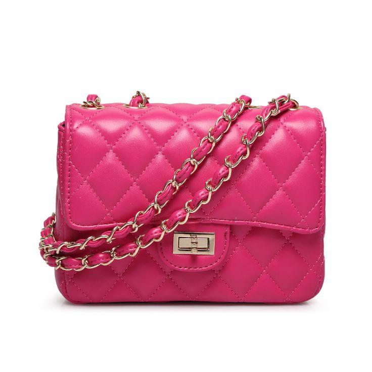 Classic crossbody bag for women quilted diamond lattice women messenger bag fashion trend shoulder bag female gold chain bags