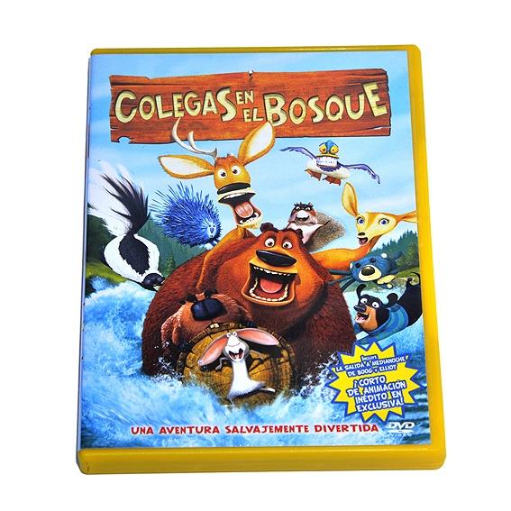 """""""Colegas en el Bosque"""", DVD en perfecto estado. 7 puntos Creciclando.  #DVD #niños #dibujosanimados #trueque"""