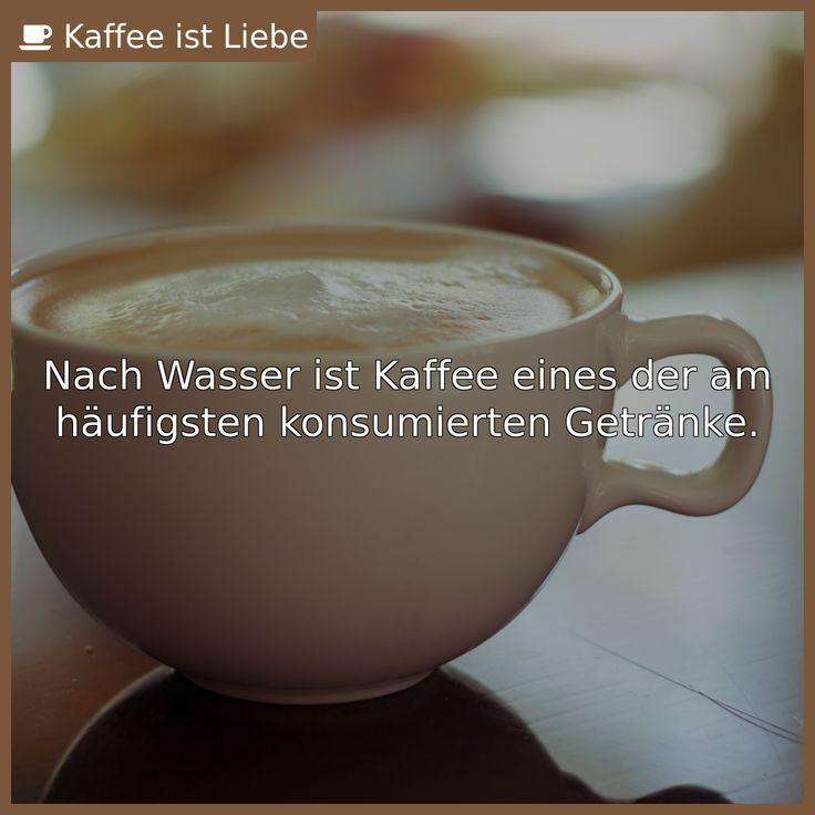 Nach Wasser ist Kaffee eines der am häufigsten konsumierten Getränke.