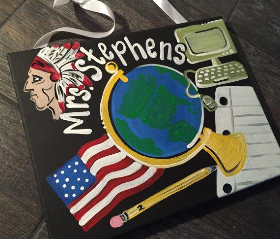 Teacher Door Sign Hanger - History Teacher Door Sign -  history teacher sign…