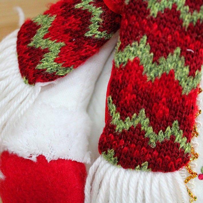 "2015 Christmas Decoration 22"" Standing Santa Claus Snowman Dolls Christmas Gift High Quanlity Feliz Navidad,Drop Shipping,225"