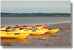 By-The-Sea-Kayaking Victoria Prince Edward Island rentals